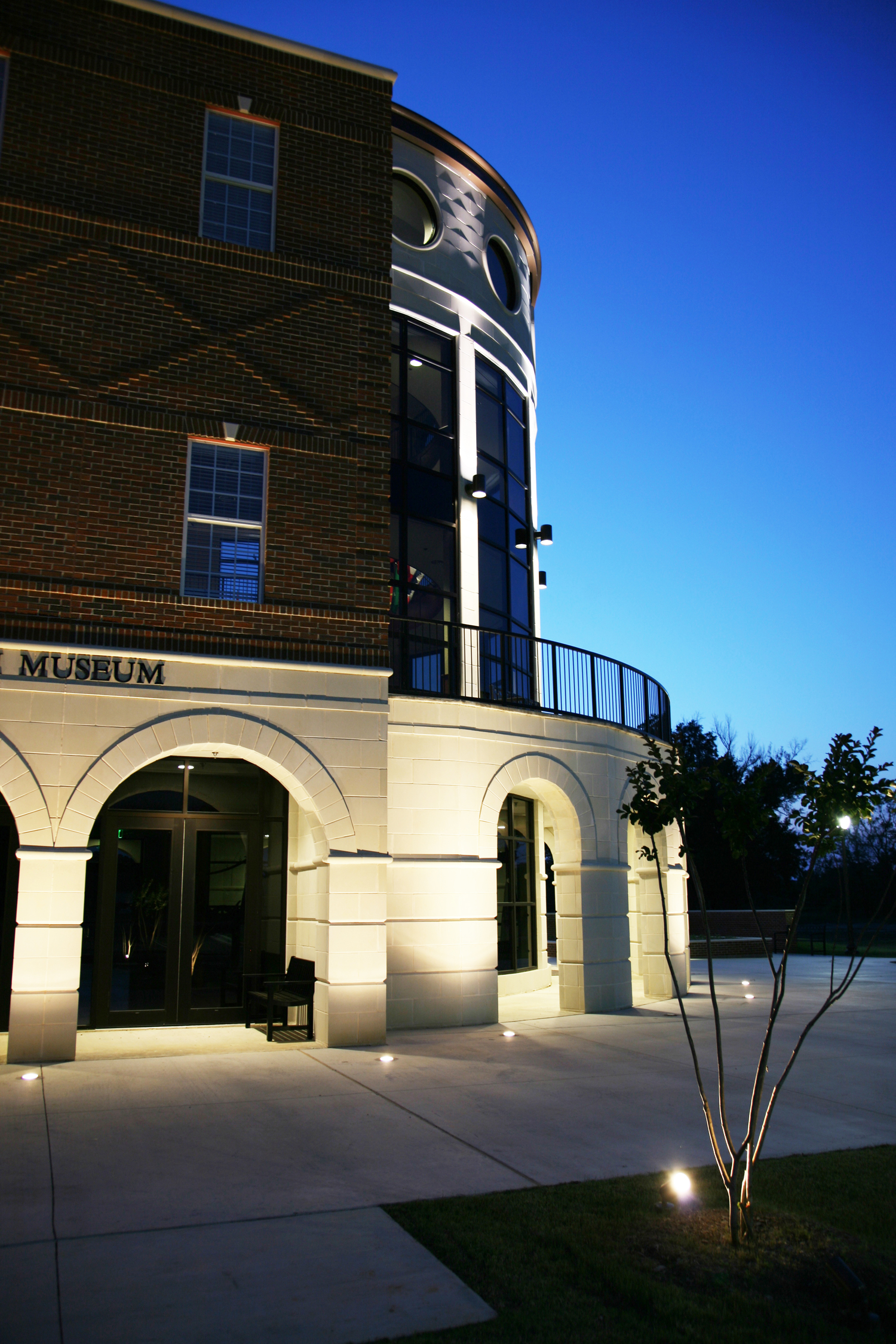 american freedom museum - east texas museum architects - tyler civic architecture - butler architectural group - mike butler