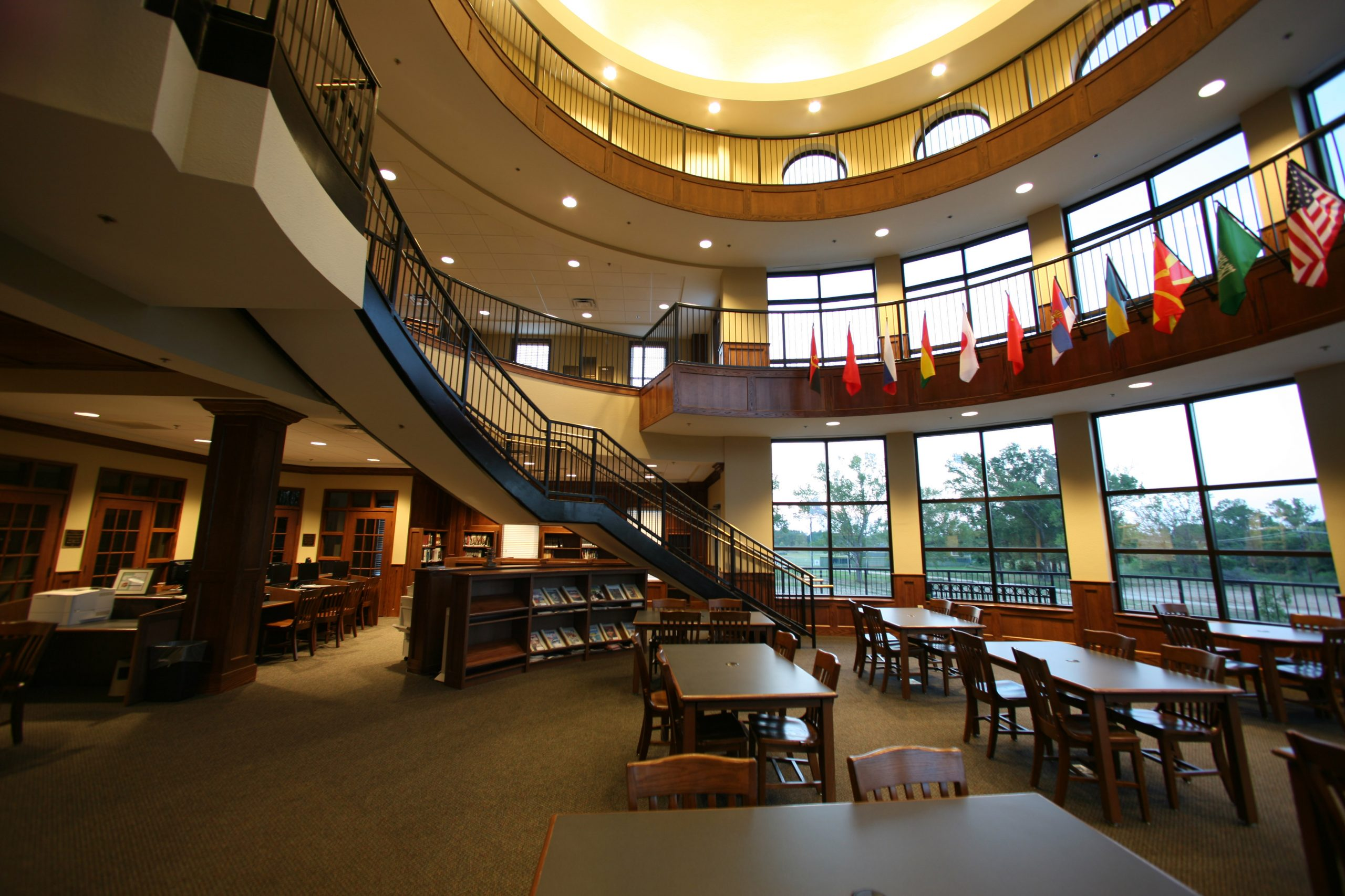 brook hill school founders hall - school architect east texas - tyler texas educational builder - butler architectural group