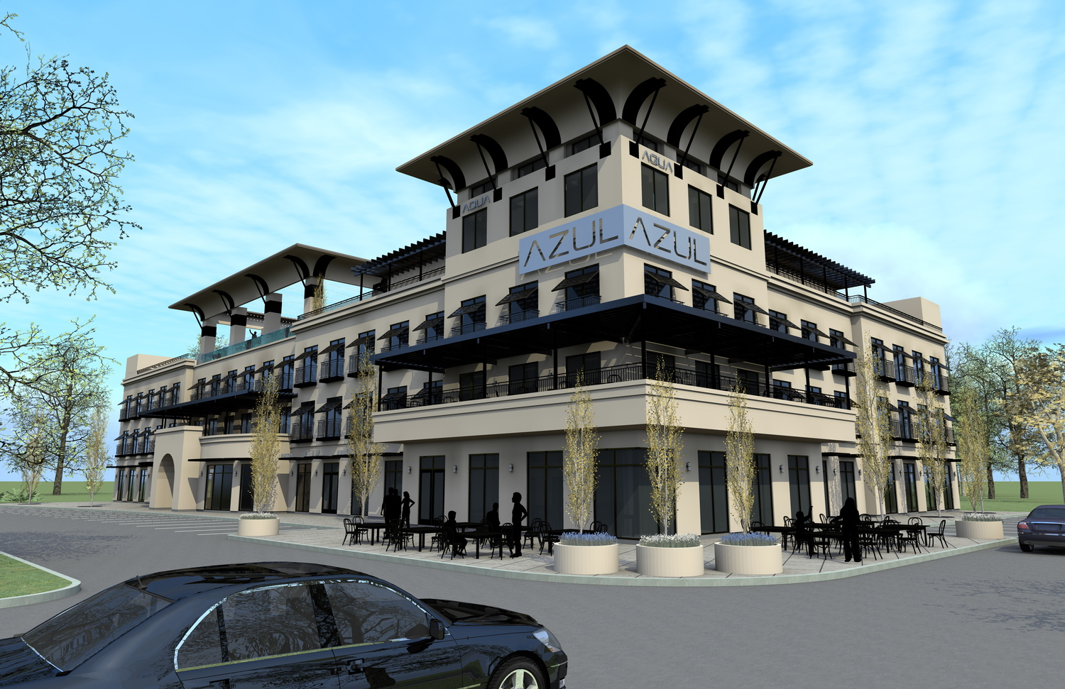 mixed use concept east texas - east texas conceptual architect - conceptual architect tyler - butler architectural group