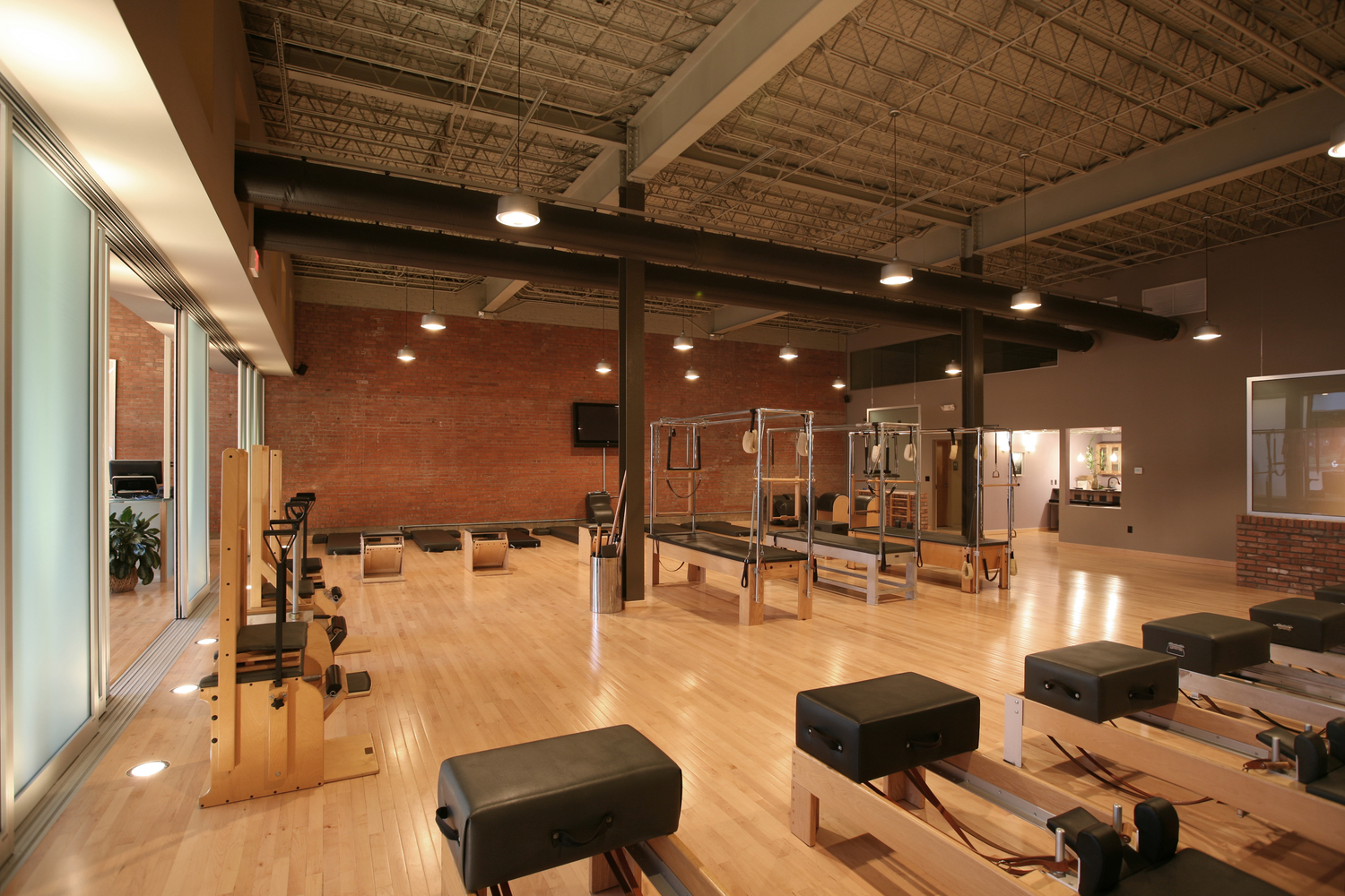 balance studio tyler - pilates studio architect - commercial interior architect tyler - butler architectural group