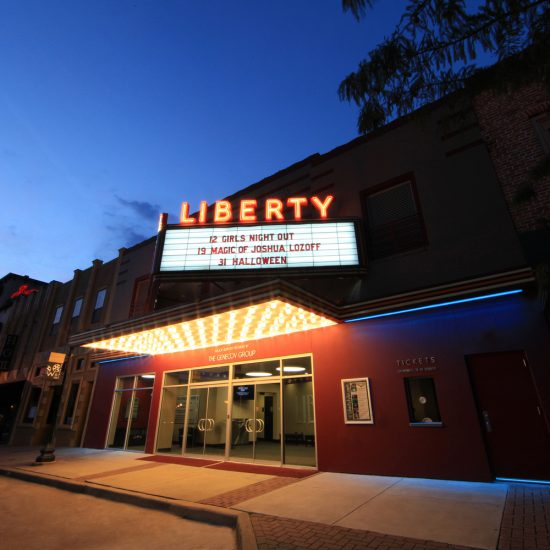 liberty theater tyler texas - architect for civic buildings east texas - commercial architect tyler - butler architectural group