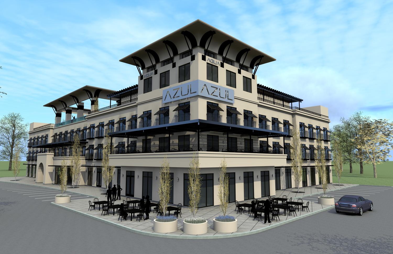 mixed use concept east texas - east texas conceptual architect - conceptual architect tyler - butler architectural group