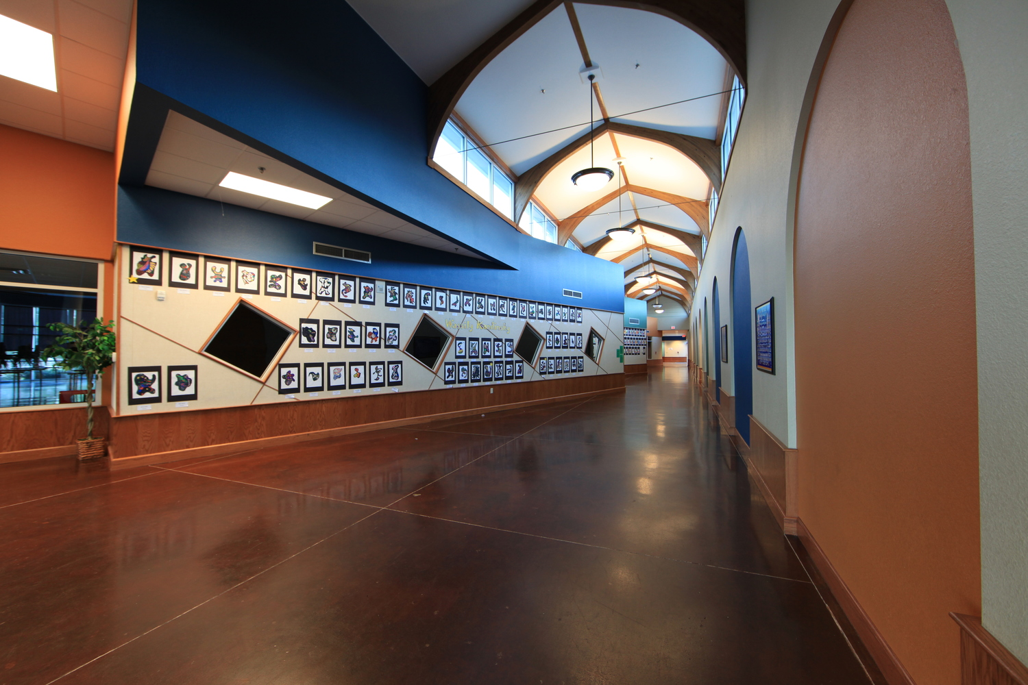 brook hill lower school - east texas private school architecture - tyler texas private school designer - butler architectural group
