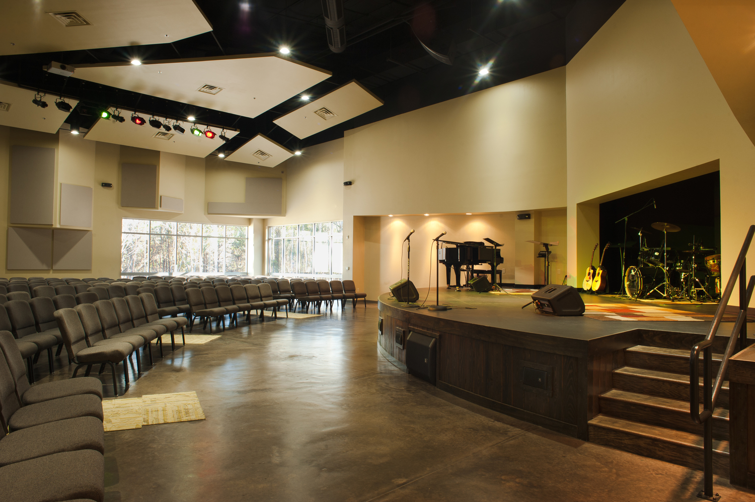 dayspring united methodist church architect - a church without walls concept - religious architect east texas - butler architectural group