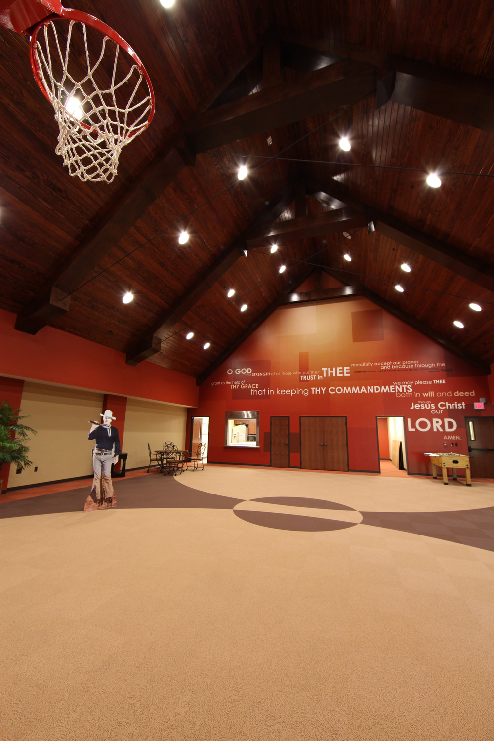 christ episcopal church interior - church remodel architect tyler - east texas worship space architect - butler architectural group