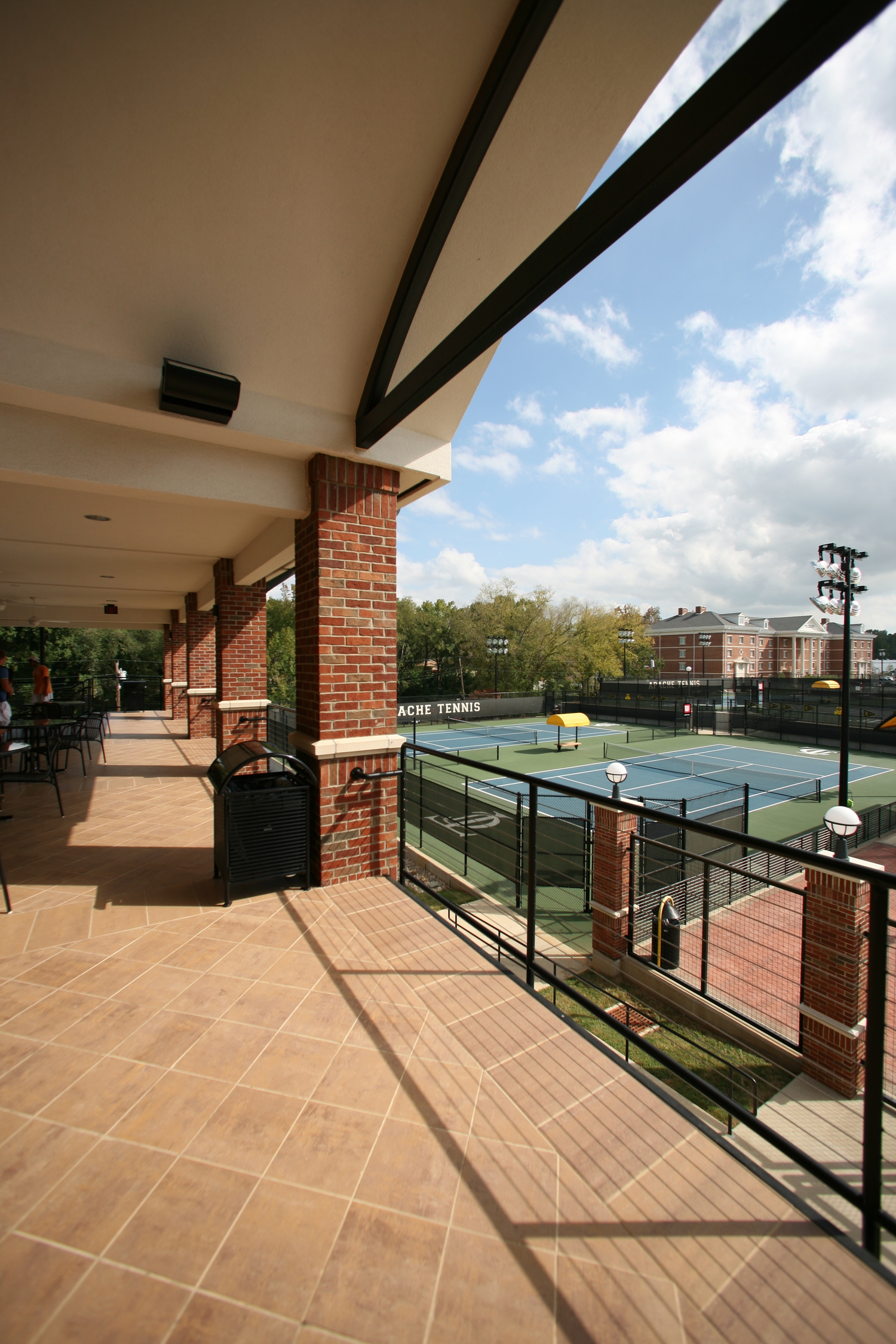 tjc tennis facilities architect - sports facilities architect - design build recreation architect - butler architectural group