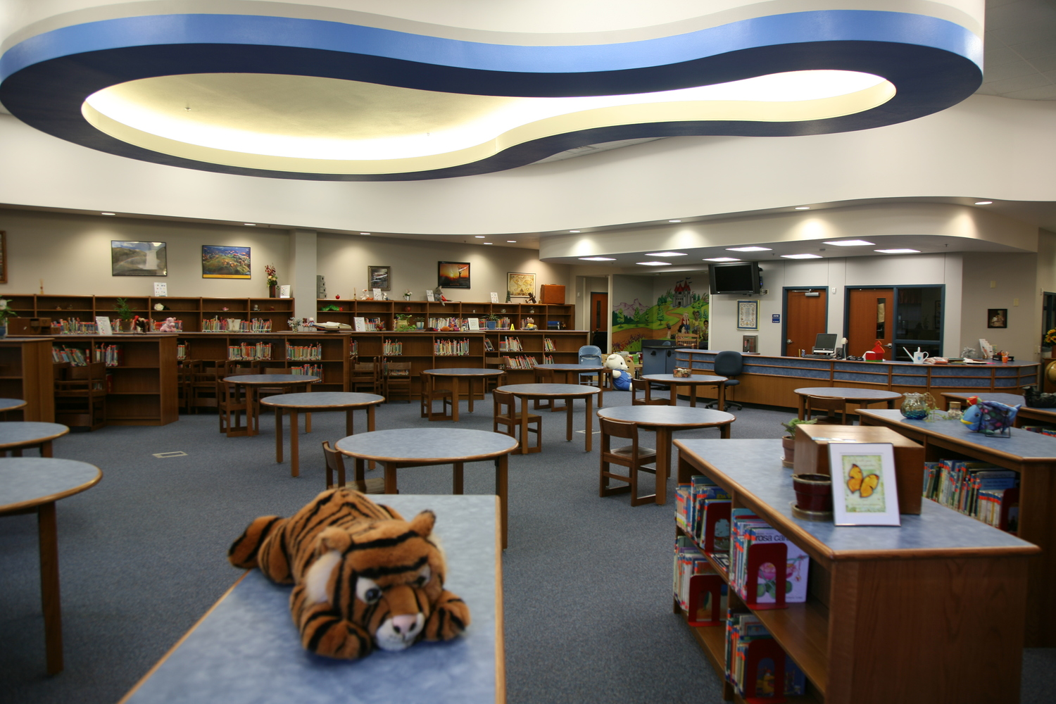 bonner elementary school - east texas school architecture - tyler educational facilities - butler architectural group