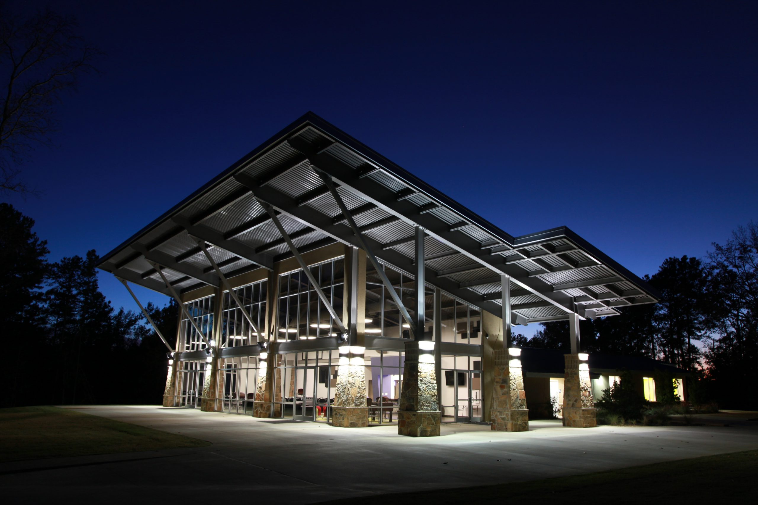 south spring baptist church youth building - tyler area architect - architect in east texas - butler architectural group - mike butler